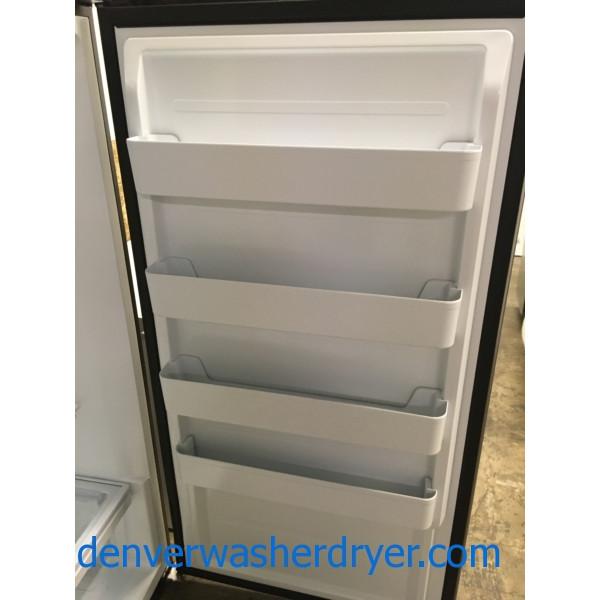 New Upright 17 Cu Ft Convertible Refrigerator Freezer