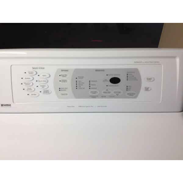 Kenmore Elite Washer Dryer Digital Dryer 110