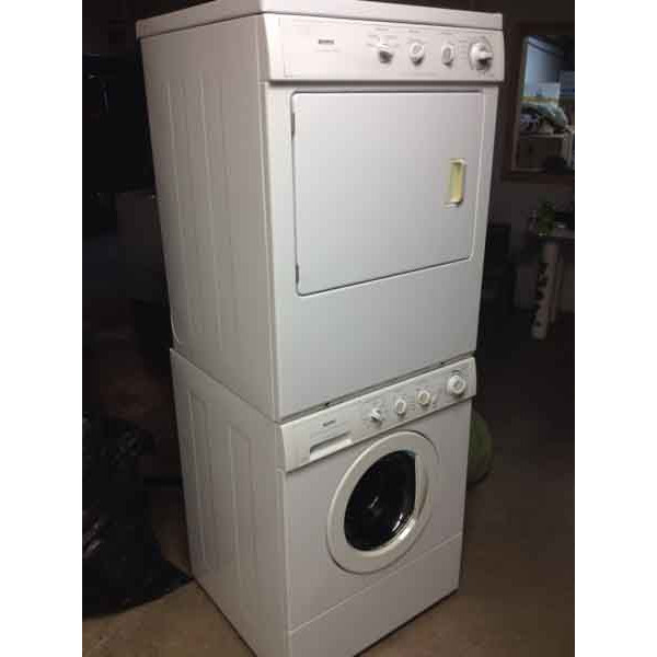kenmore front load dryer. kenmore front load stackable full size washer dryer