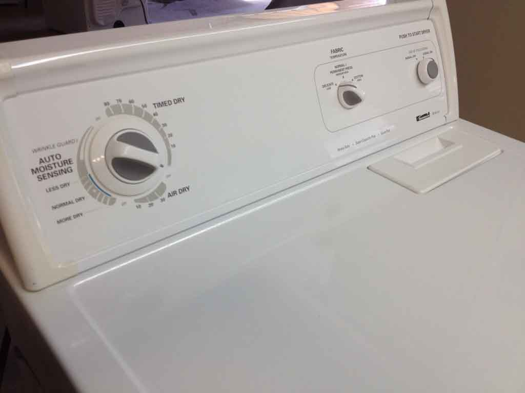 Large Images for Kenmore 80 Series 'Gas' Dryer - #172
