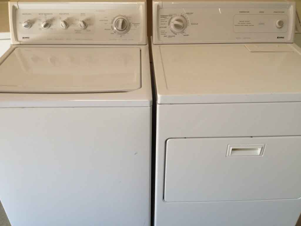 Kenmore Washer And Dryer Set Photos