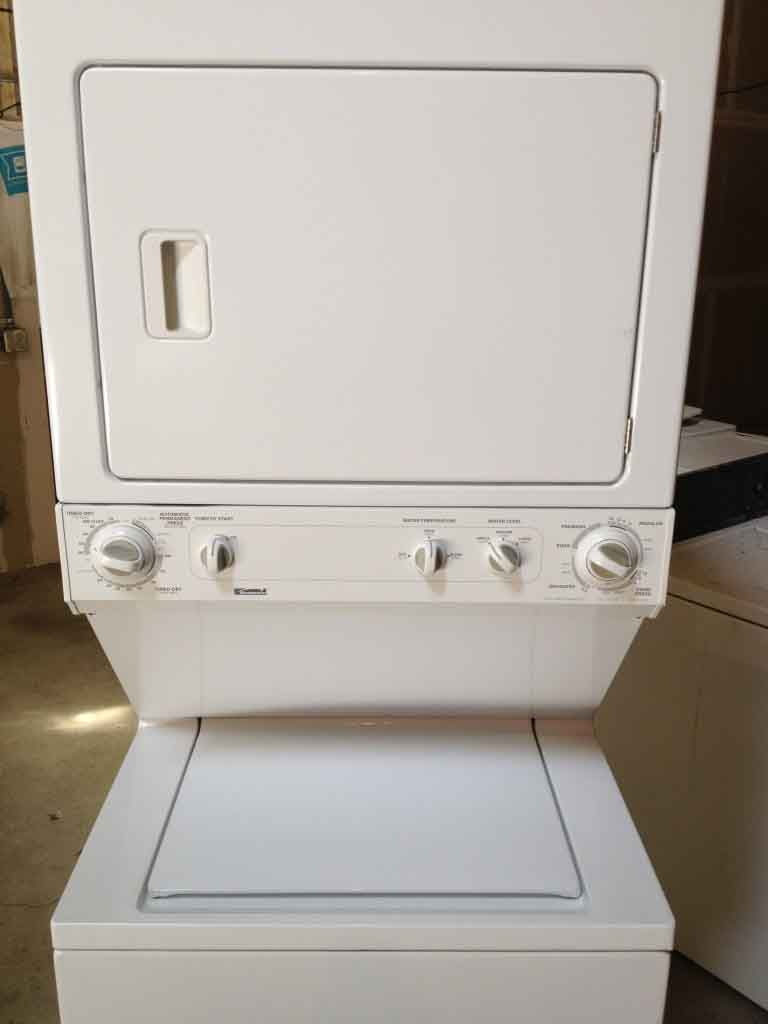 Large Images For Kenmore 27 Stack Washer Dryer 308