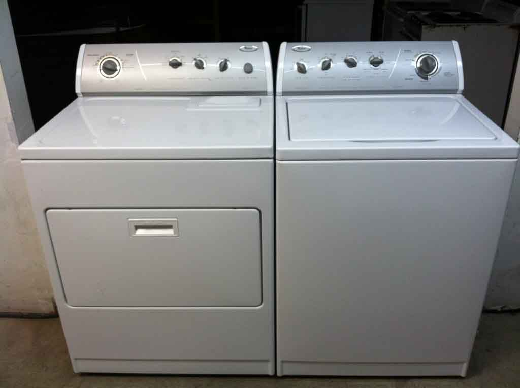 Large Images for Whirlpool Ultimate Care II Washer/Dryer Set - #352
