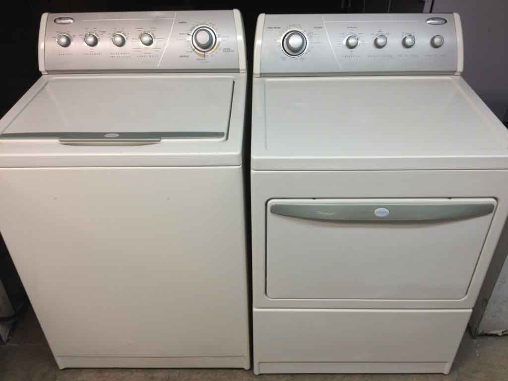 Whirlpool Gold Ultimate Care II Washer/Dryer