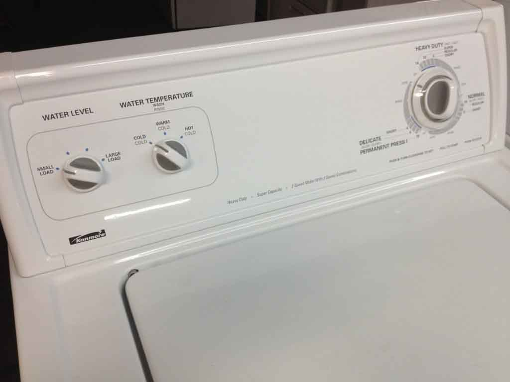kenmore front loading washing machine repair