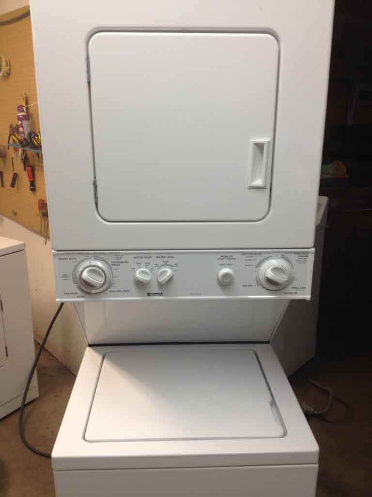 Large Images For Kenmore Heavy Duty Stack Washer Dryer 24