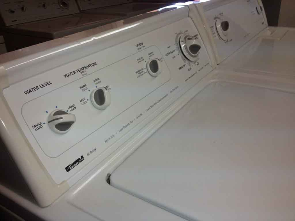 Large Images For Reliable Kenmore 80 Series Washer/Heavy