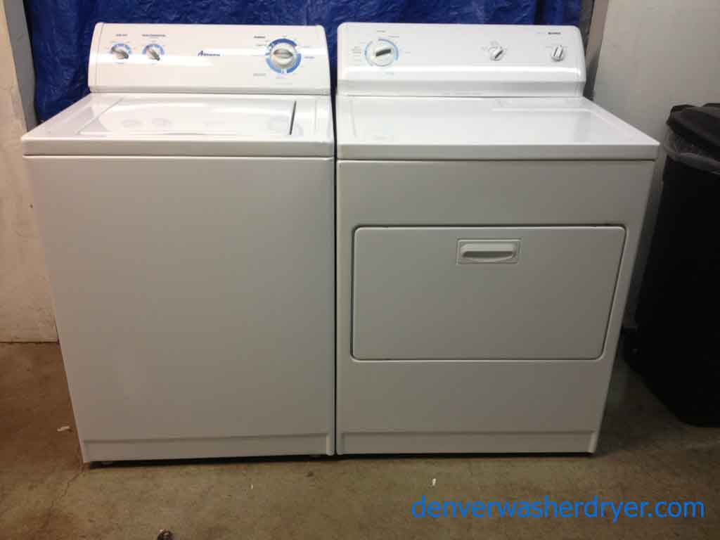 amana front load washer manual
