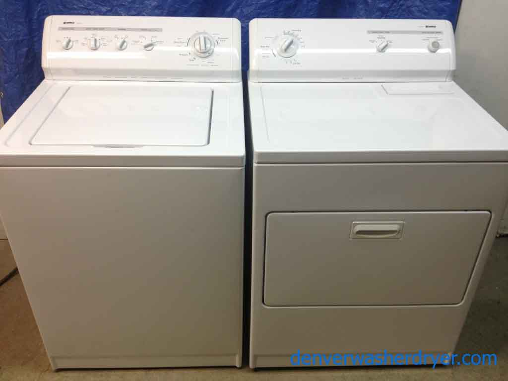Large Images For Kenmore 80 Series Washer 70 Series Dryer 575