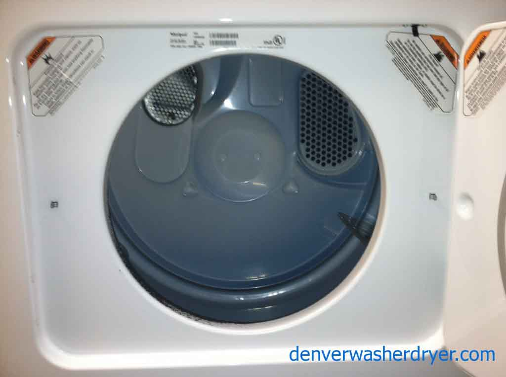 whirlpool washer and dryer set it