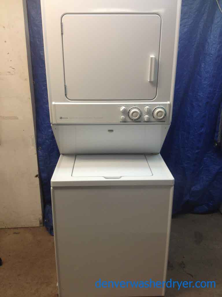 Delightful Maytag Stackable Washer/Dryer *GAS*