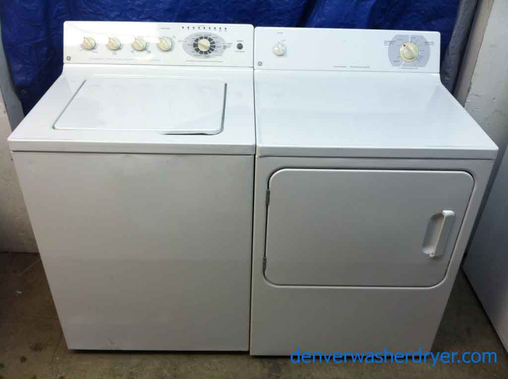 Gorgeous GE Washer/Dryer Set