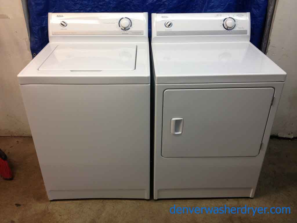 Large Images for Maytag Performa Matching Washer/Dryer Set ...