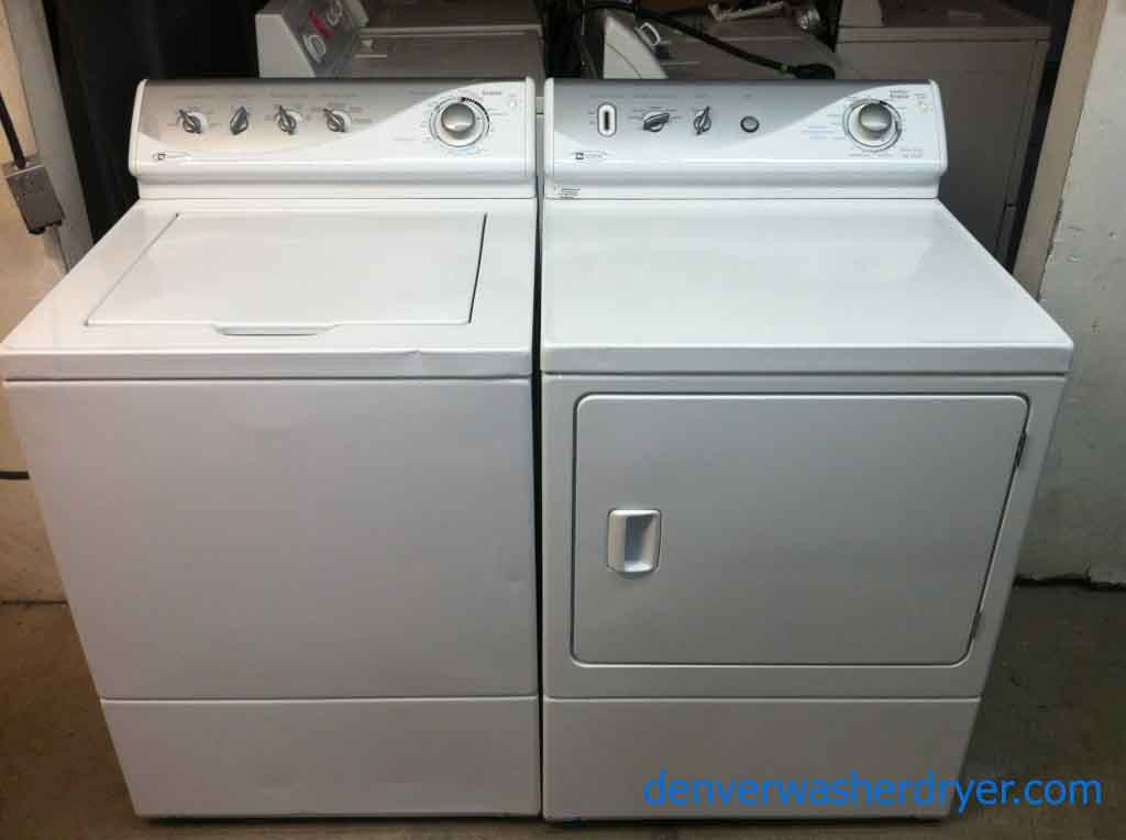 Large Images For Heavy Duty Maytag Washer And Dryer Set 763