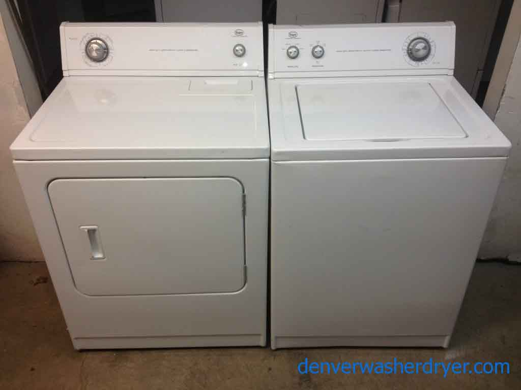 Washers And Dryers Roper Washer And Dryer