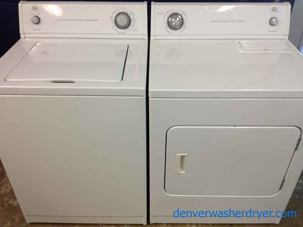 Washer And Dryers Roper Washer And Dryer