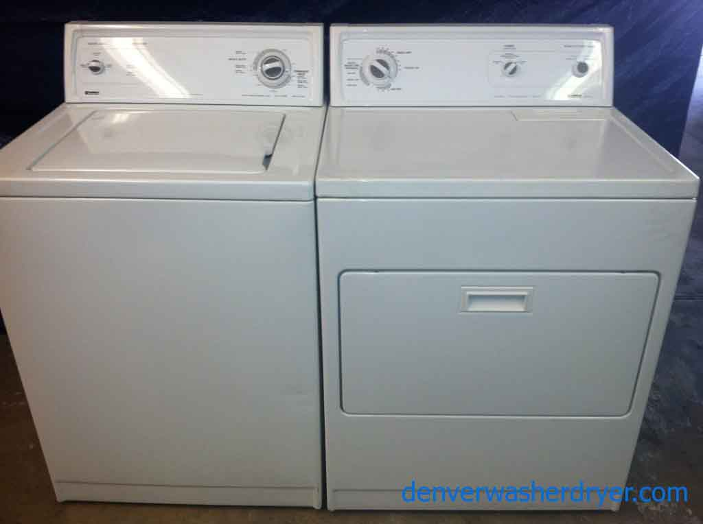 Large Images For Slick Kenmore Washer And 80 Series Dryer 892