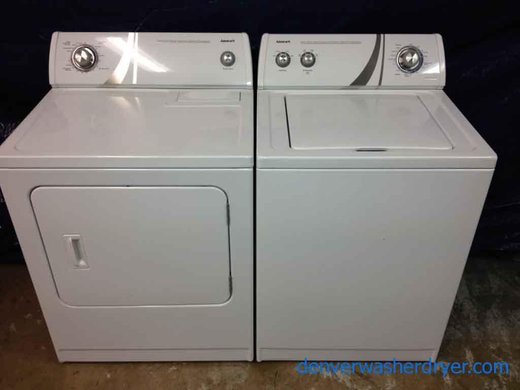 large images for almost new admiral washer dryer great units 904 rh denverwasherdryer com Maytag Wringer Washing Machine Manual Maytag Centennial Washer Manual