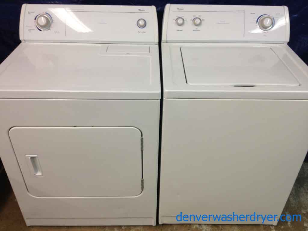 Large Images for Whirlpool Washer/Dryer Set, commercial quality ...