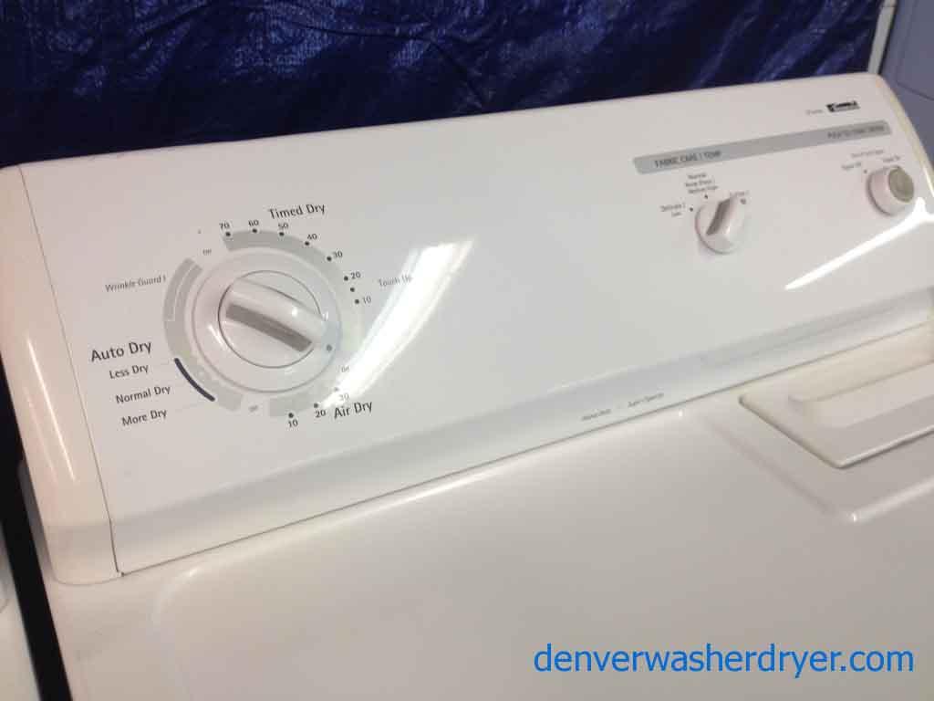 Large Images for Kenmore Washer/Dryer, recent models - #1038