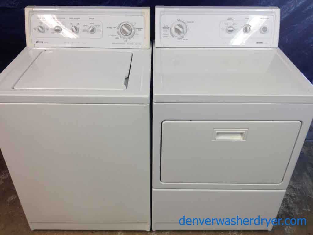 Large Images For Kenmore 80 Series Washer Gas Dryer 1050