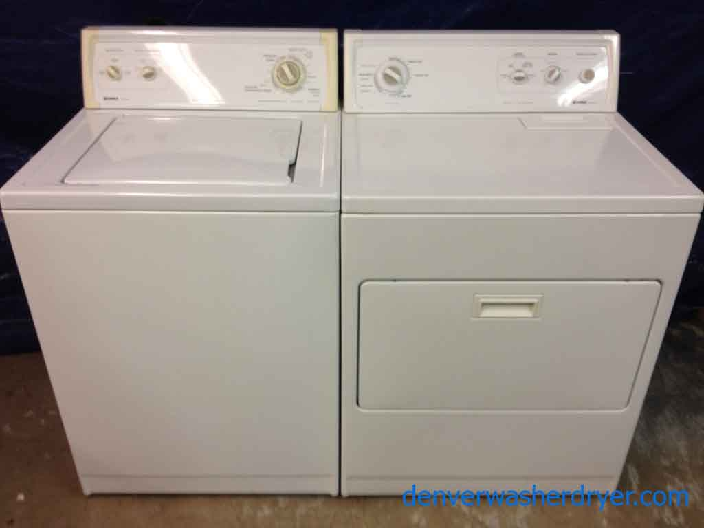 Large Images For Kenmore 80 Series Washer Dryer Set Solid Machines 1062