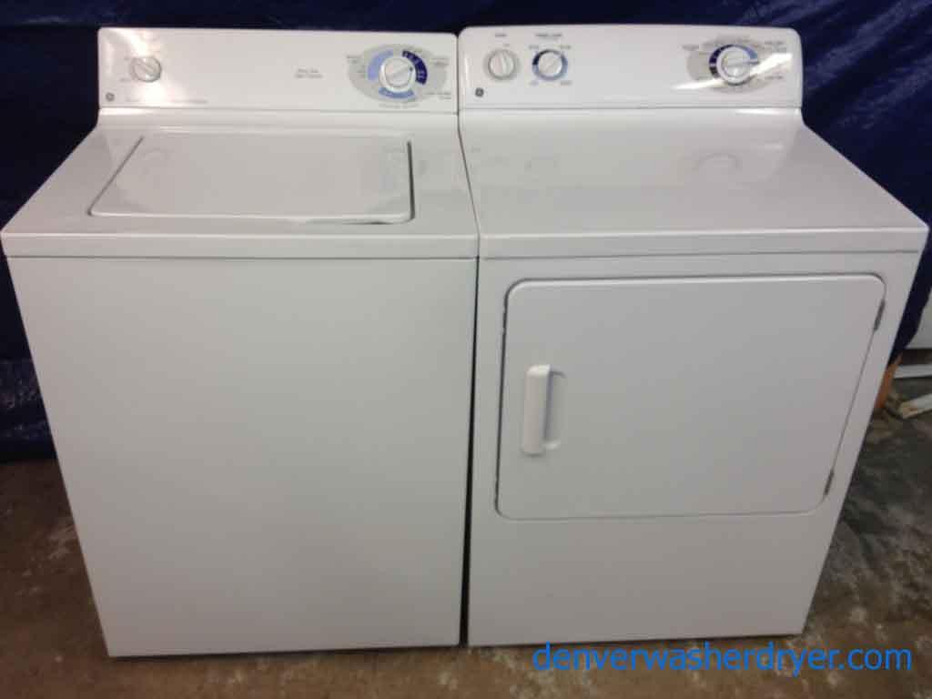 ge washerdryer heavy duty super capacity