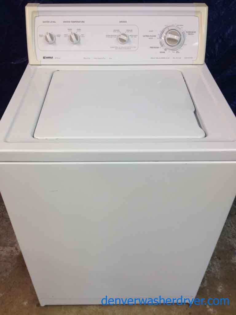 how to open a kenmore washer series 80
