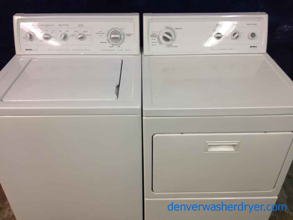 Large Images For Kenmore 80 Series Washer Limited Dryer 1242