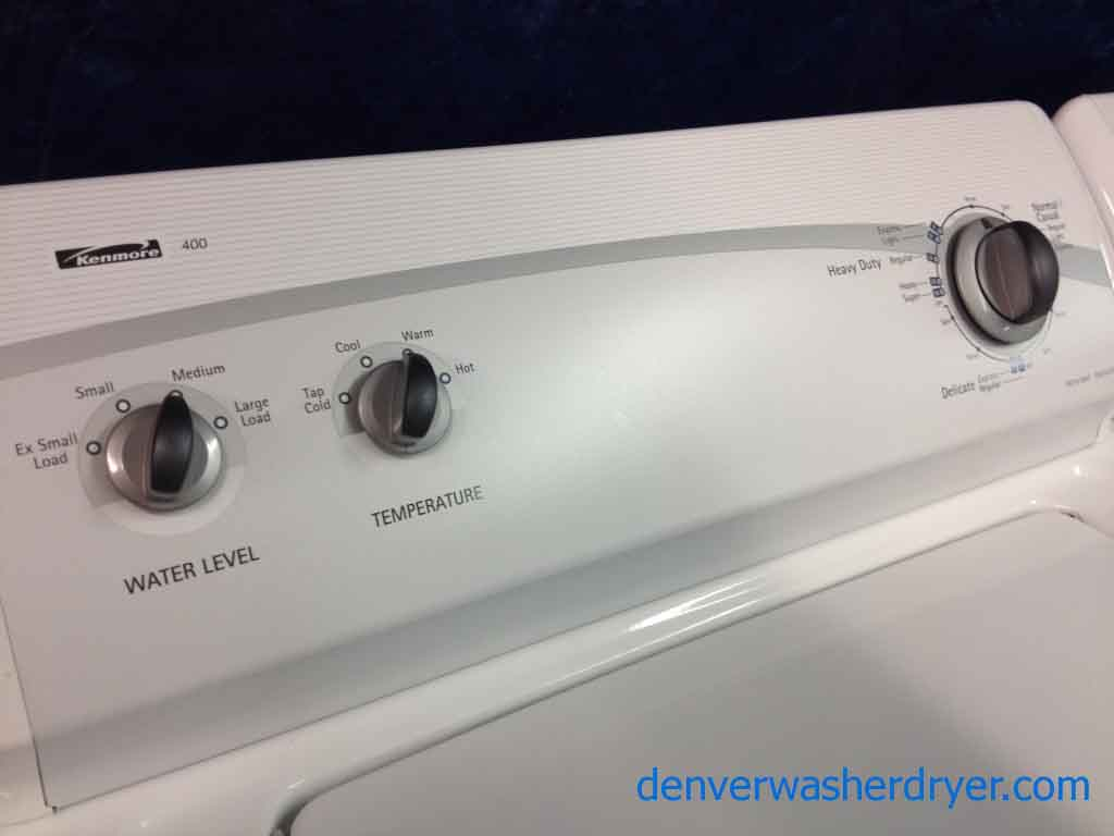 kenmore 400 washer. kenmore 400 series washer/dryer, stunning, like-new! washer h