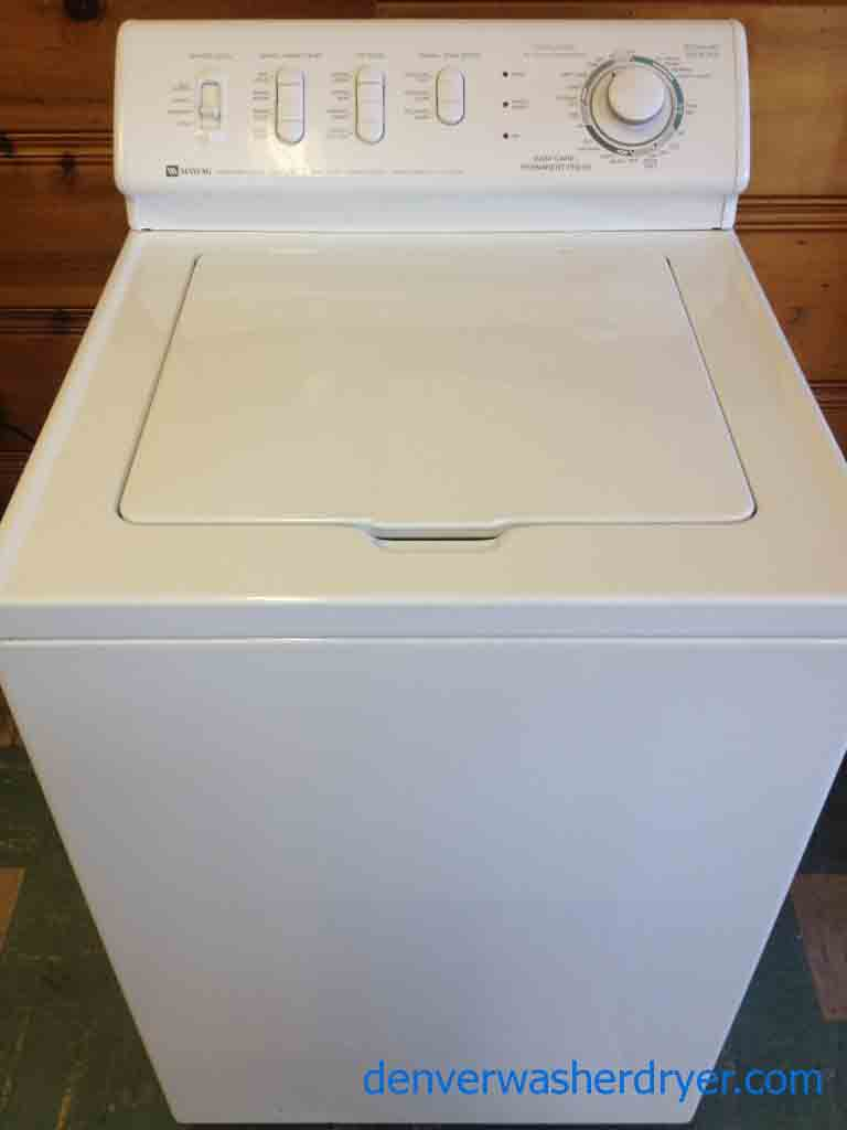 Maytag Dependable Care Washer So Solid