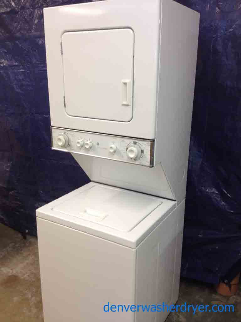 Large images for ge spacemaker stack washer dryer 24 inch - Washer dryer for small spaces gallery ...