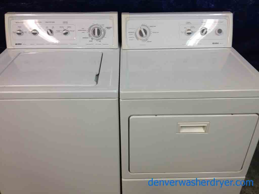 Large Images For Kenmore 80 Series Washer/90 Series Dryer