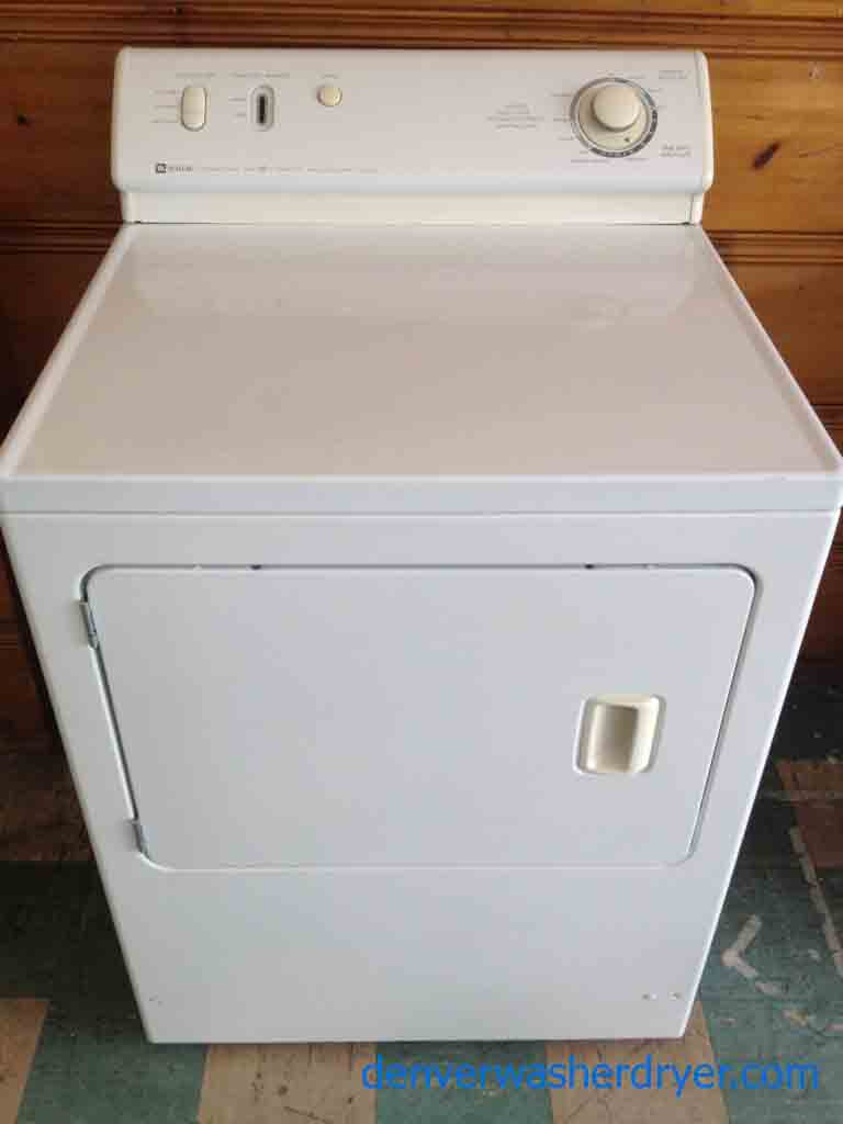 Large Images For Maytag Dependable Care Dryer Solid And