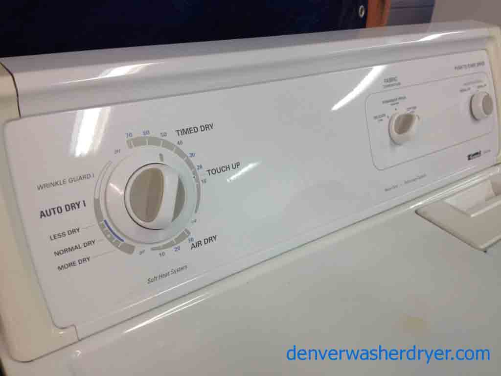 Large Images For Kenmore 60 Series Washer  Dryer