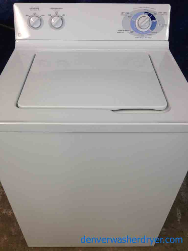 Ge Washer Super Capacity Plus Great Unit Images Frompo
