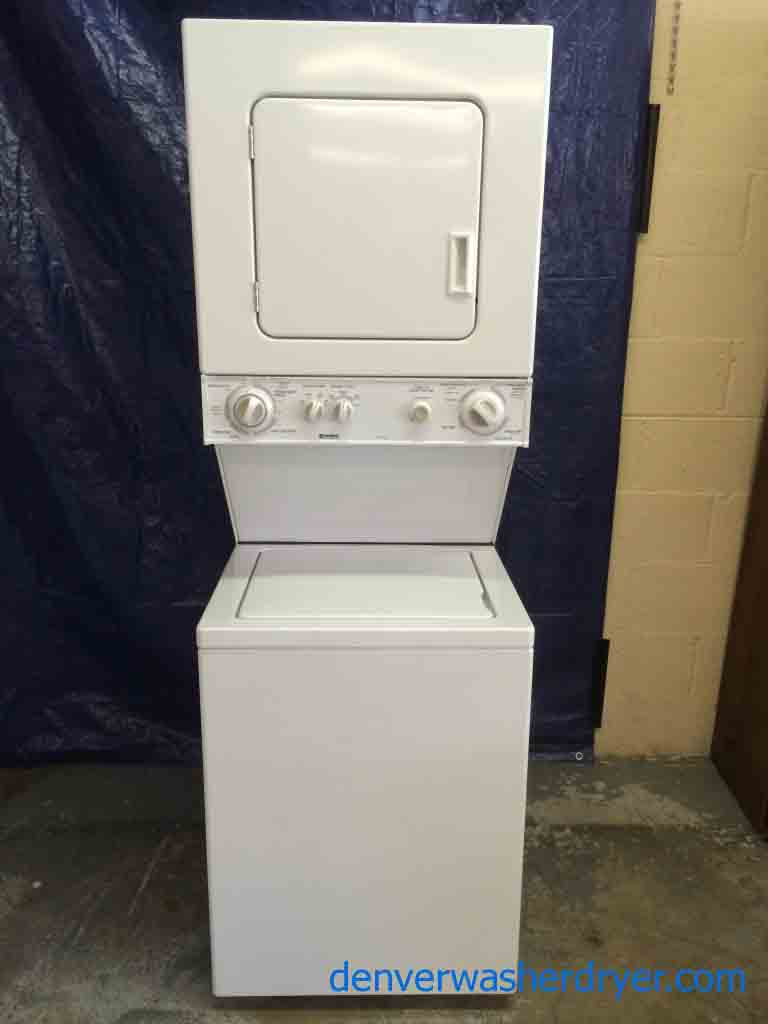 Large images for apartment sized 24 washer dryer stackable unit 220v 1634 - Apartment size stackable washer and dryer ...