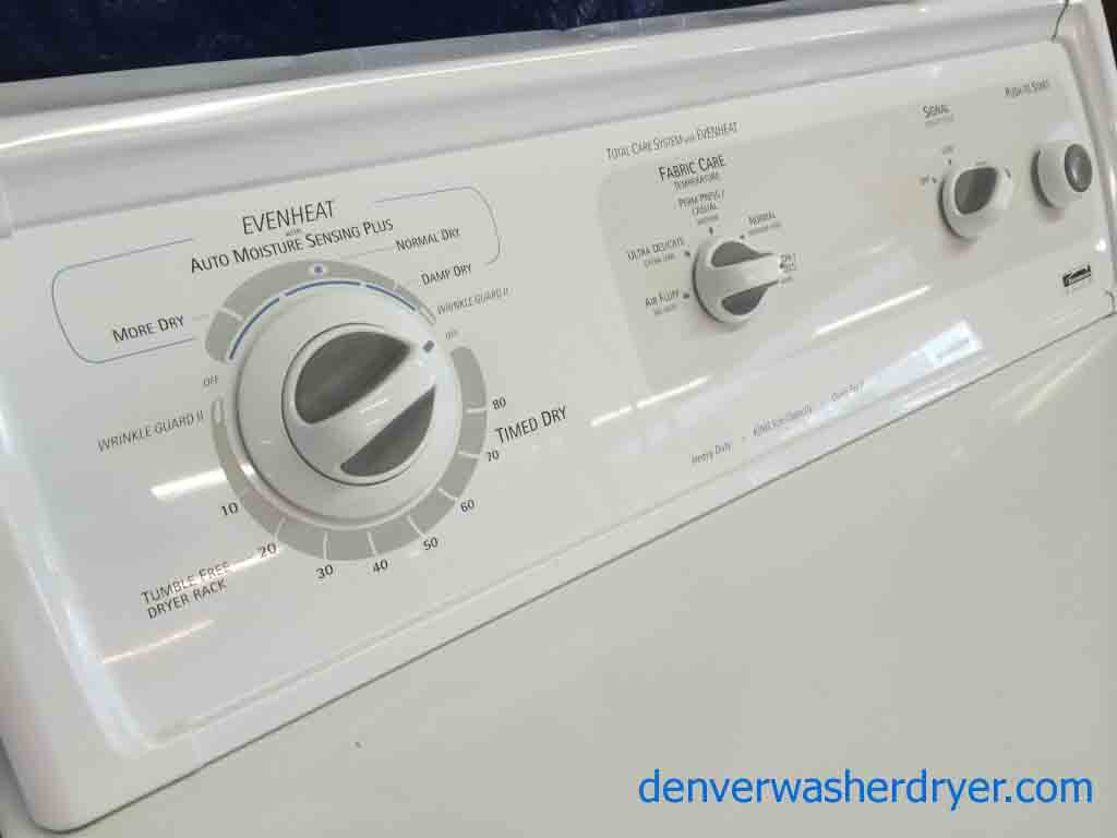 kenmore king size capacity washer. fantastic condition kenmore elite washer/dryer set, king size capacity, capacity washer