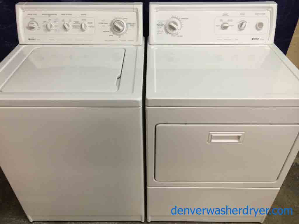nice kenmore 90 series washer dryer set