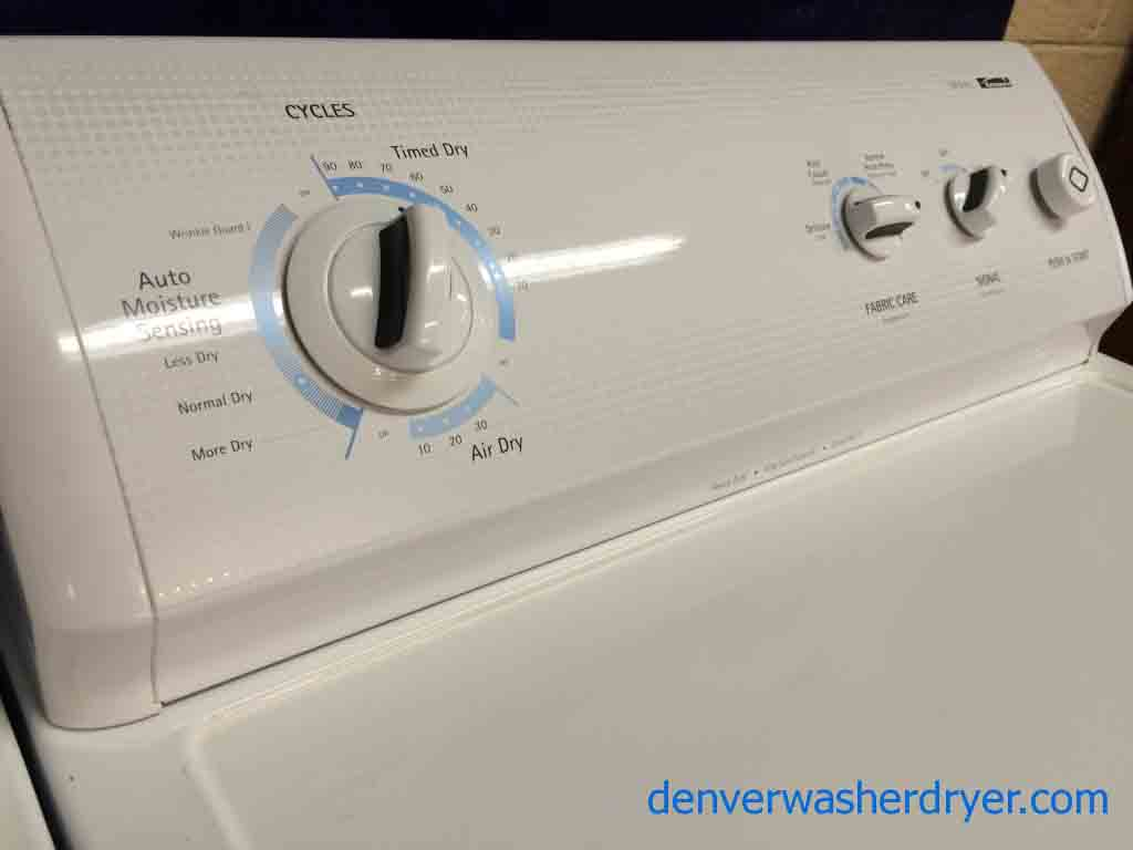Large Images for Great Kenmore 700 Series WasherDryer Matching