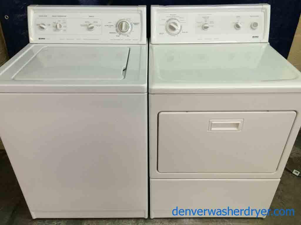Large Images for Kenmore 80 Series Washer/Elite Dryer Set ...