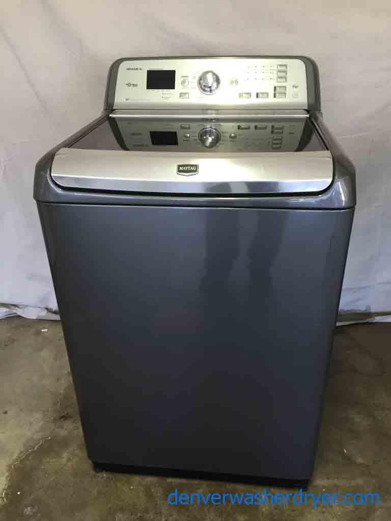 maytag bravos x washer and dryer