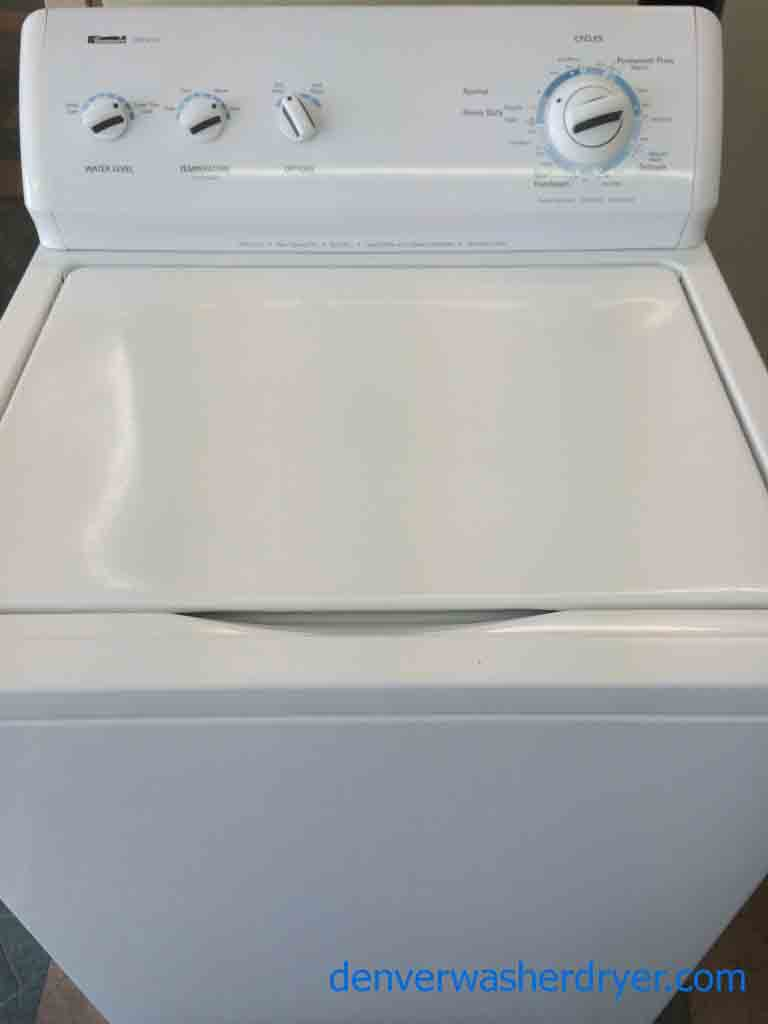 Large Images For Kenmore 600 Series Washer Super Capacity Plus Recent Model 2071