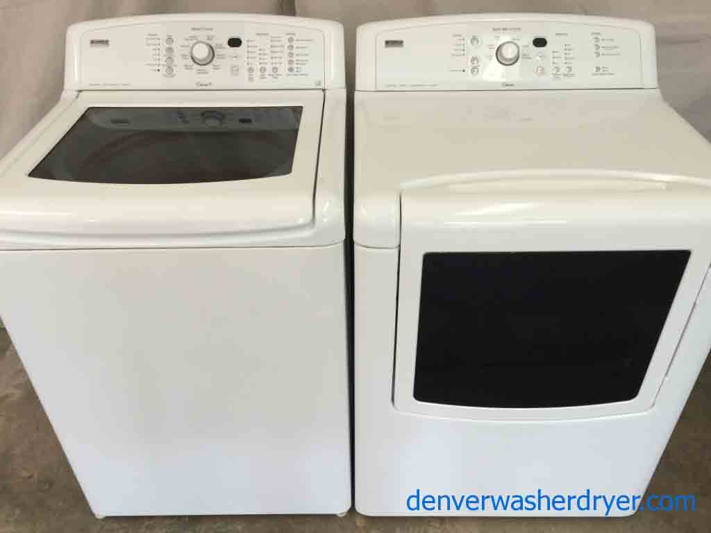 Kenmore Elite Oasis Washer Dryer Set He Stainless Canyon Capacity