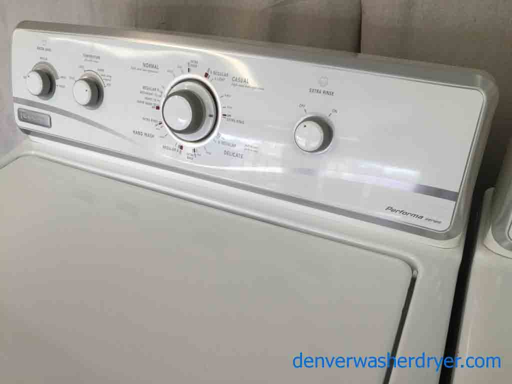 Large Images for Beautiful Maytag Washer/Dryer Set ...