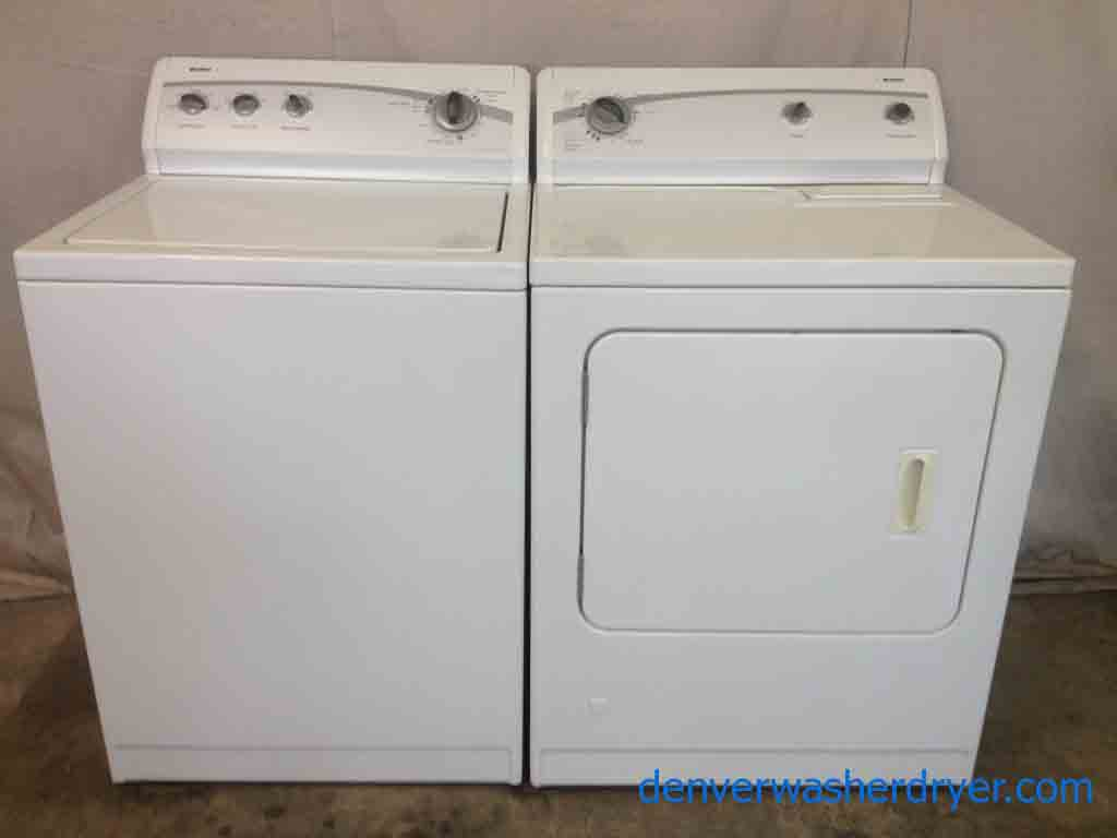 Large Images for Kenmore 500 Washer with Matching **GAS** Dryer - #2322