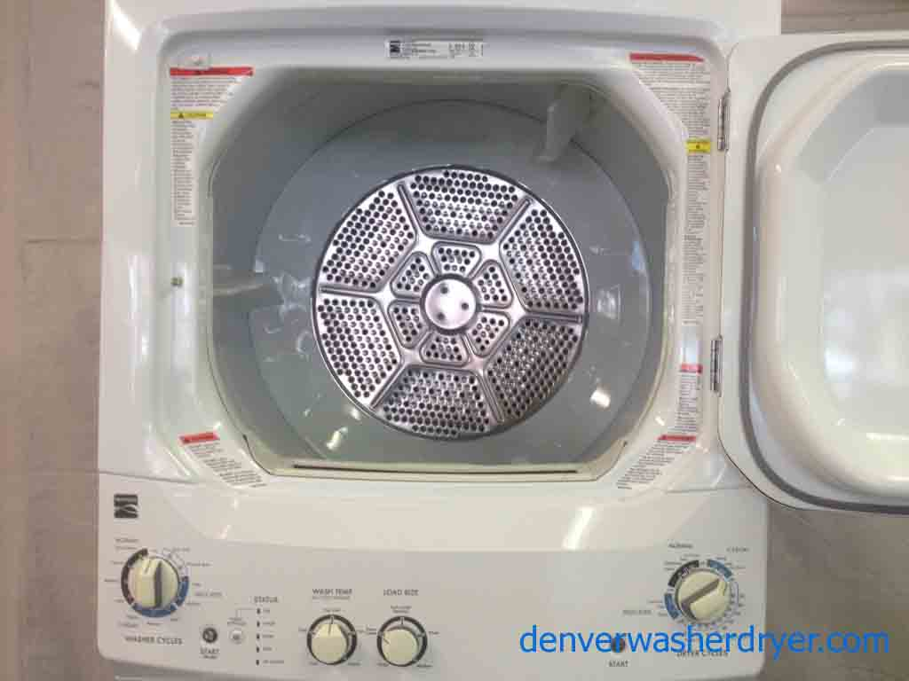 Large Images For Kenmore 27 Newer Model Stacked Washer