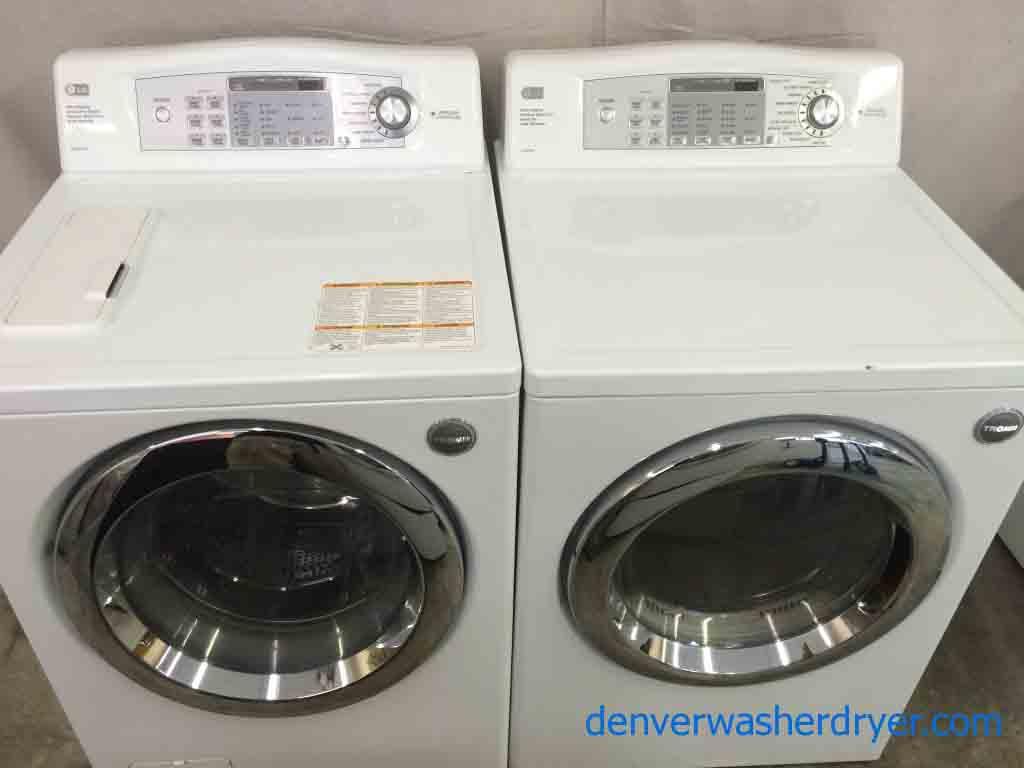 Lg Tromm Front Load Washer Dryer Set Super Awesome