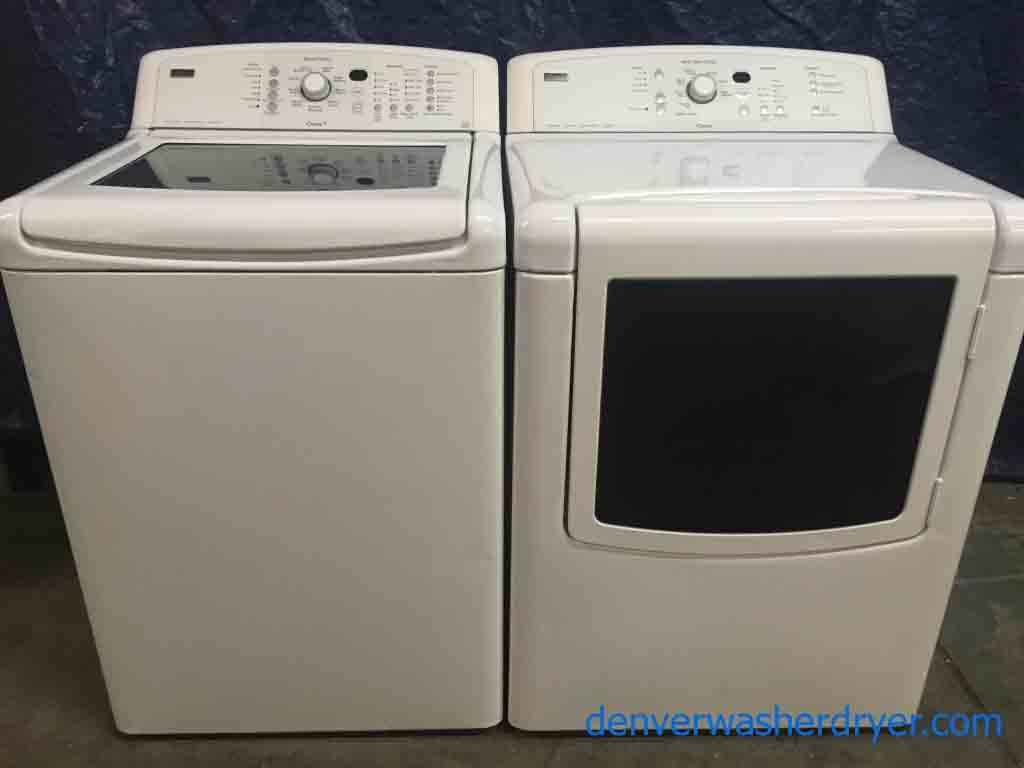 He Kenmore Elite Oasis Washer Dryer