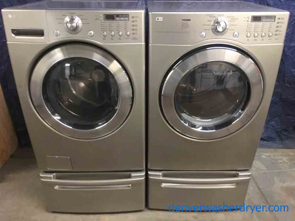 lg front load washer instruction manual